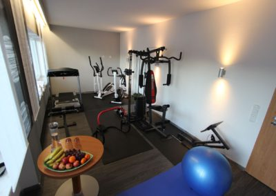 Fitnessraum, Der Wieshof
